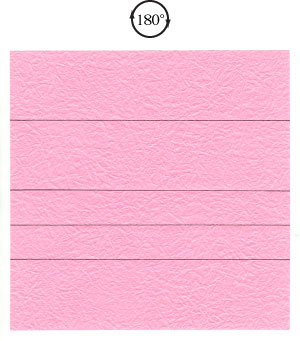 поделка из бумаги роза 9