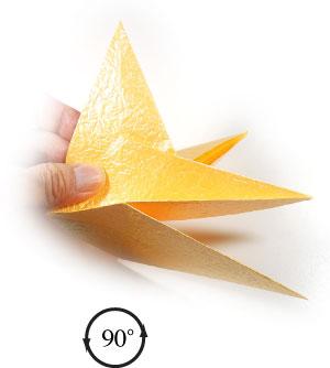 простая бумажная роза 30