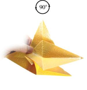 простая бумажная роза 33