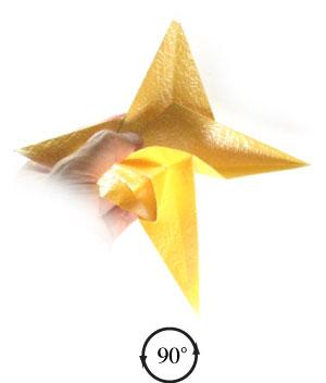 простая бумажная роза 36