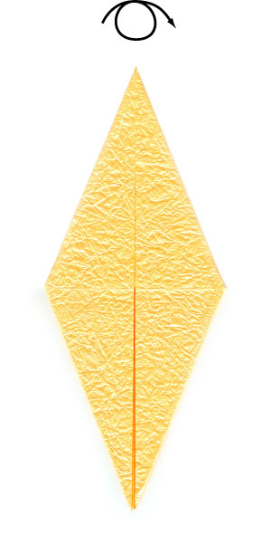 простая роза оригами 28