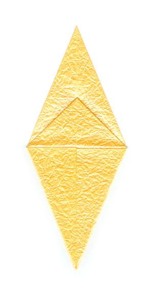 простая роза оригами 29