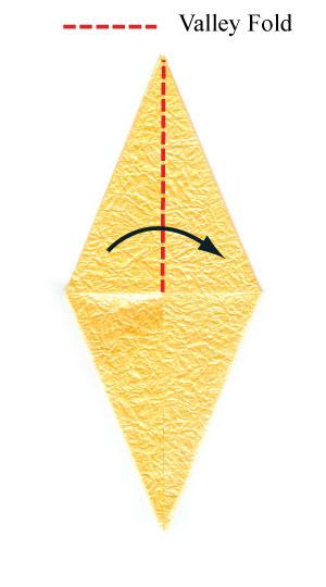 простая роза оригами 30