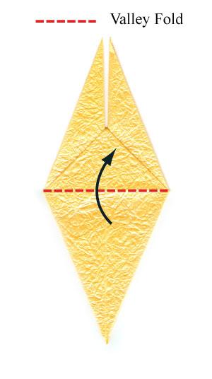 простая роза оригами 33