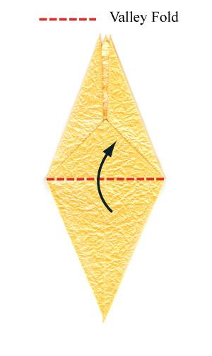 простая роза оригами 35