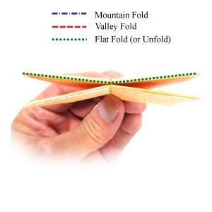простая роза оригами 37
