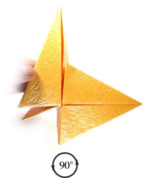 простая роза оригами 39