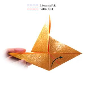 простая роза оригами 41