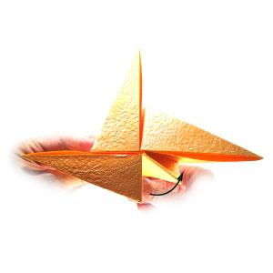 простая роза оригами 42