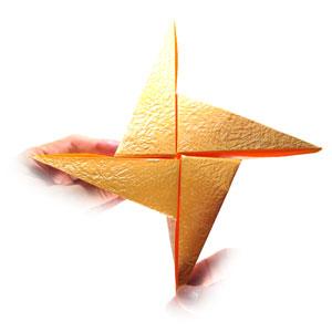простая роза оригами 43