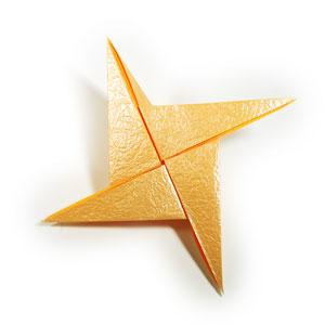 простая роза оригами 44