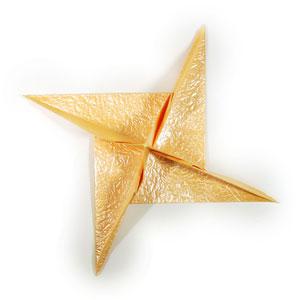 простая роза оригами 45