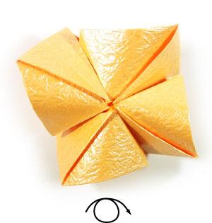 простая роза оригами 51