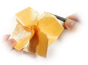 простая роза оригами 53