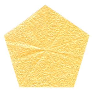 простая роза с пятью лепестками из бумаги 3