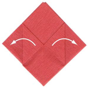 пуансетия из бумаги 3