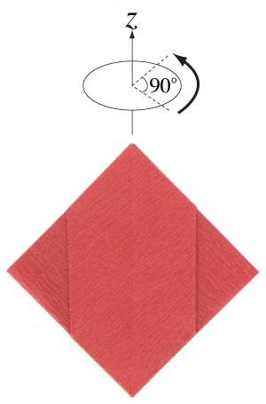 пуансетия из бумаги 5
