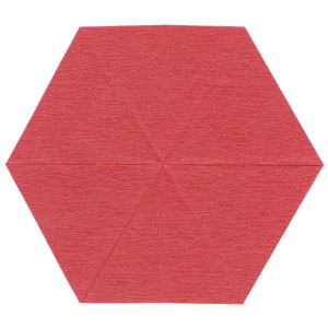 пуансеттия оригами 2
