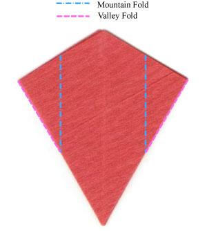 пуансеттия оригами 8