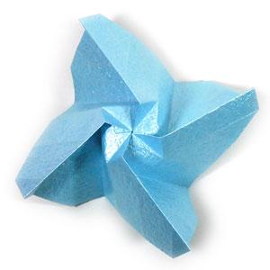 роза кавасаки из бумаги 42