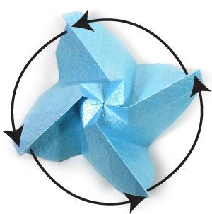 роза кавасаки из бумаги 44