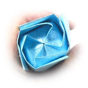 роза кавасаки из бумаги 45
