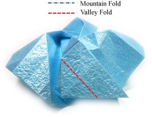 роза кавасаки оригами 1