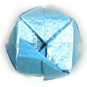 роза кавасаки оригами 13
