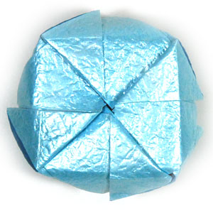 роза кавасаки оригами 14