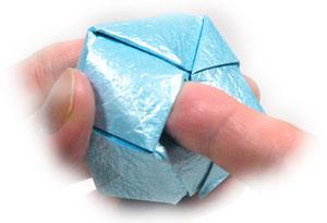 роза кавасаки оригами 18