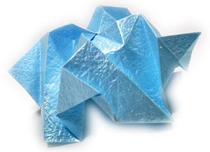 роза кавасаки оригами 2