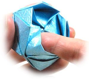 роза кавасаки оригами 21