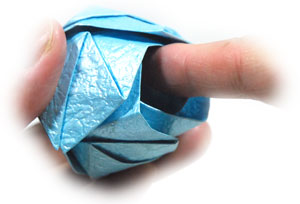 роза кавасаки оригами 22