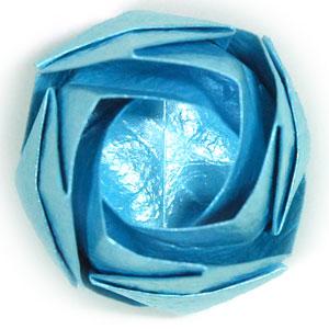 роза кавасаки оригами 23