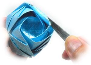 роза кавасаки оригами 25