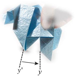 роза кавасаки оригами 4
