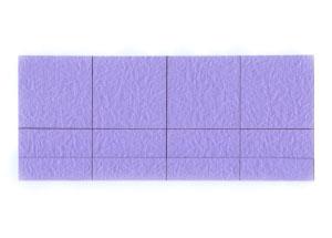 роза оригами из бумаги 10