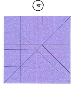 роза оригами из бумаги 19