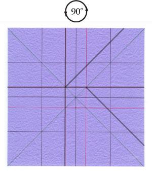роза оригами из бумаги 21