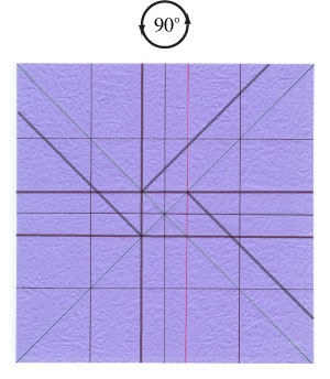 роза оригами из бумаги 23