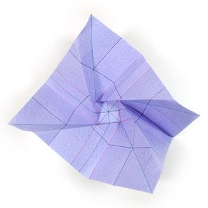 роза оригами из бумаги 28