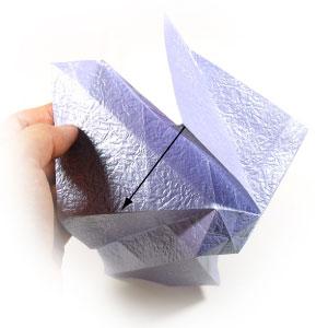 роза оригами из бумаги 29