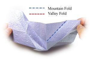 роза оригами из бумаги 32