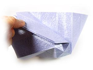 роза оригами из бумаги 34