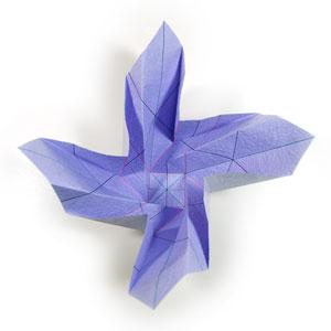 роза оригами из бумаги 36