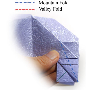 роза оригами из бумаги 40
