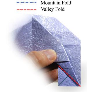 роза оригами из бумаги 41