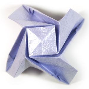 роза оригами из бумаги 45