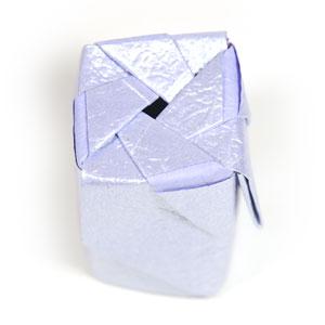 роза оригами из бумаги 54