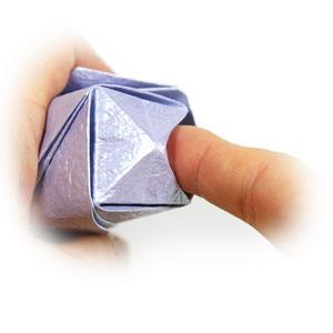 роза оригами из бумаги 56